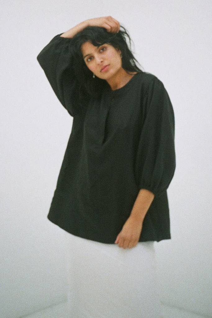 Bo Blouse in Black