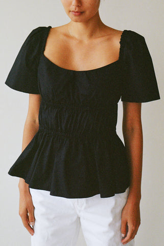 Bodice Top in Black