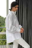 Jon Deux Shirt in White, Tops, Ellis Label - Ellis and Friends