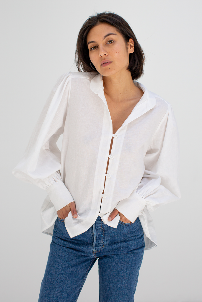 Jon Deux Shirt in White