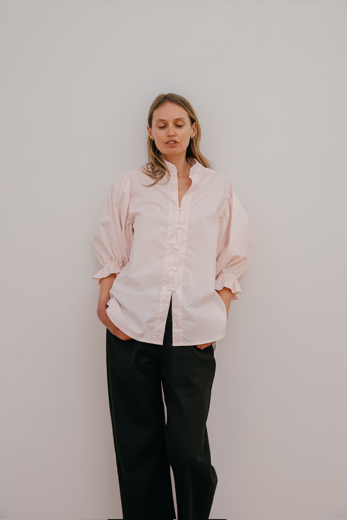 Luc Shirt in Icy Pink