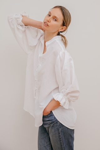 Luc Shirt in White