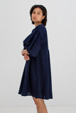Miu Dress in Navy