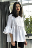Sisley Top in White, Tops, Ellis Label - Ellis and Friends