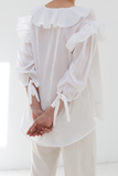 Studio Blouse in White