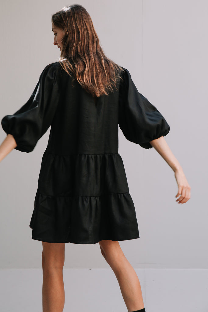 Tulle Dress in Black, Dress, Ellis Label - Ellis and Friends