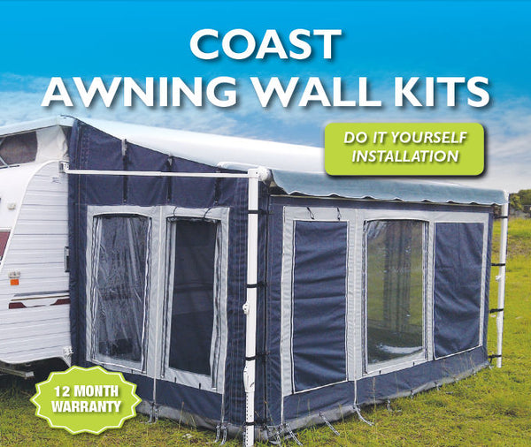 Coast to Coast Awning Wall Kit for roll out caravan and pop