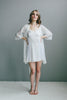 Italian Cotton/Silk Short Robe