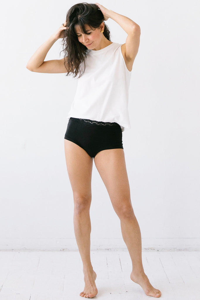 Pima Cotton Muscle Tee