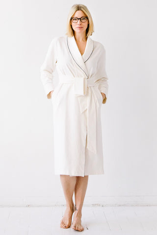 Pima Cotton Plush Robe 36""