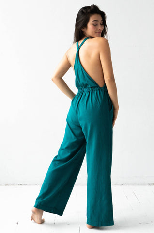 Cross Front Jumpsuit - COMING SOON!
