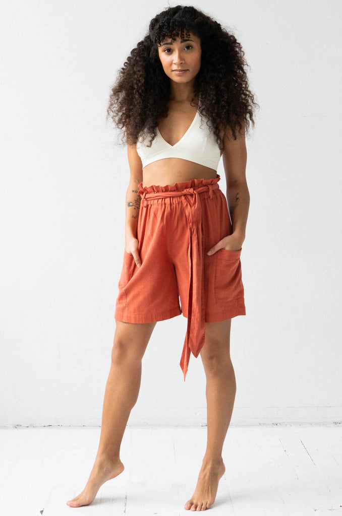 Tie Waist Shorts - COMING SOON!