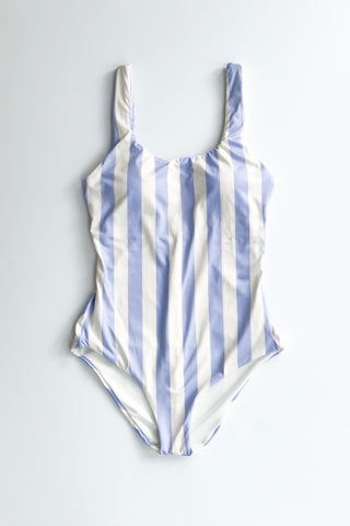 Estivo/Salua Low Back One Piece - Lilac Stripes