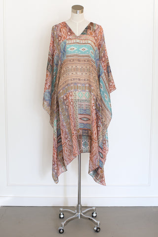 Salua Multi Colored Kaftan