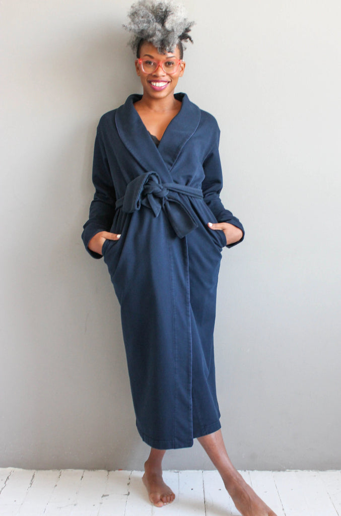 Pima Cotton Plush Robe Cotton 48""
