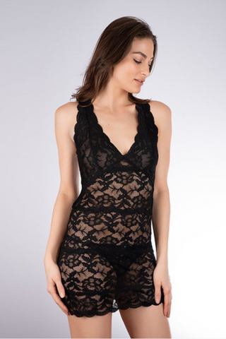 Fortuna Lace Racerback Chemise