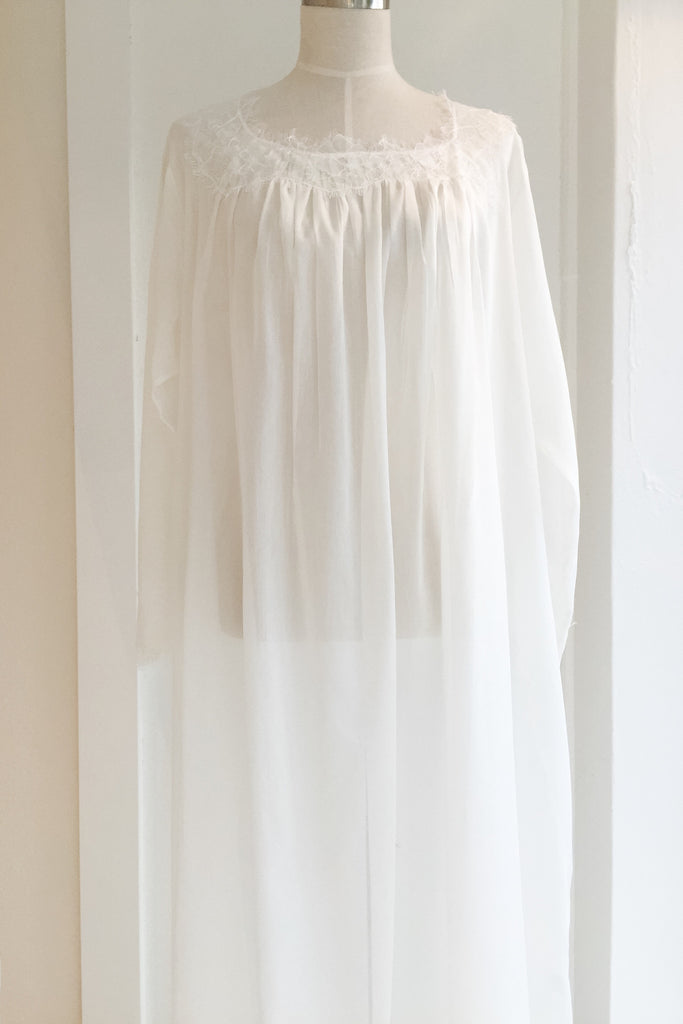 Gardenia Gown in Cotton/Silk