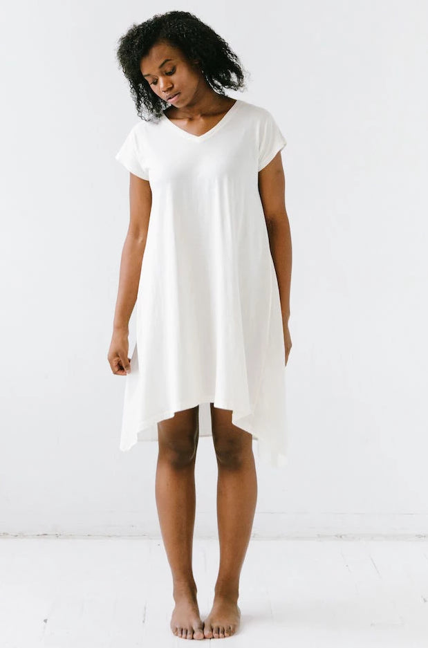 Salua Cap Sleeve Nightgown