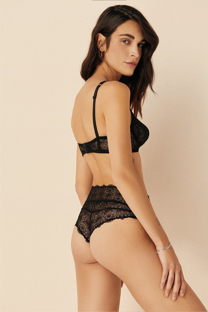 Flora High Waisted Thong