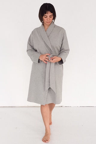 Pima Cotton Plush Robe