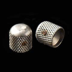 LsL Aged Nickel Plated Dome Knobs