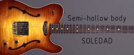 LsL Soledad Semi-Hollow body guitar