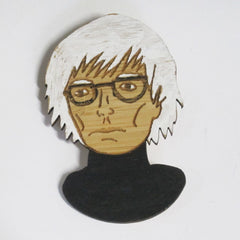 Andy Warhol Brooch Pop Art