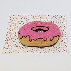 One-Off Brooch: Donut