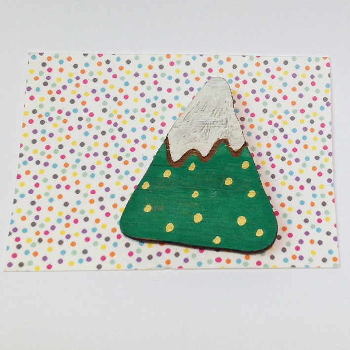 One-Off Brooch: Mountain