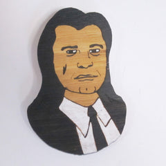 Vincent Vega Pulp Fiction Tarantino brooch John Travolta