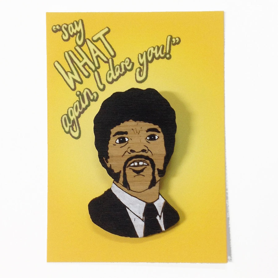 Brooch: Pulp Fiction - Jules Winnfield