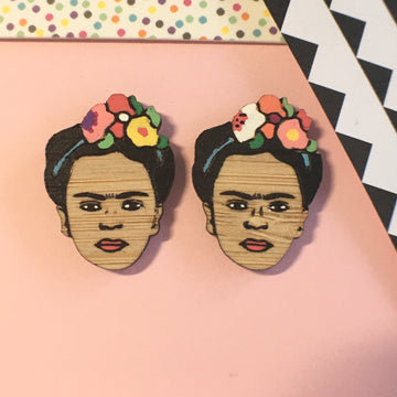 Face Studs: Frida Kahlo