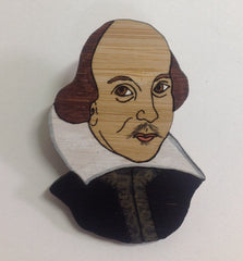 Brooch: William Shakepeare