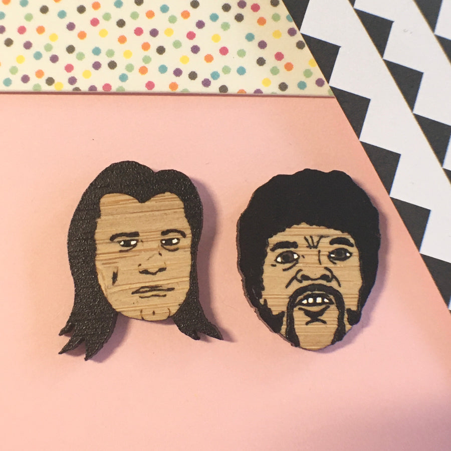 Face Studs: Pulp Fiction