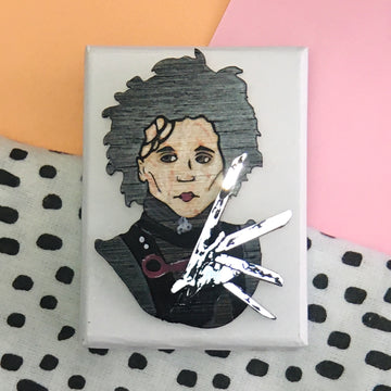 Brooch: Edward Scissorhands