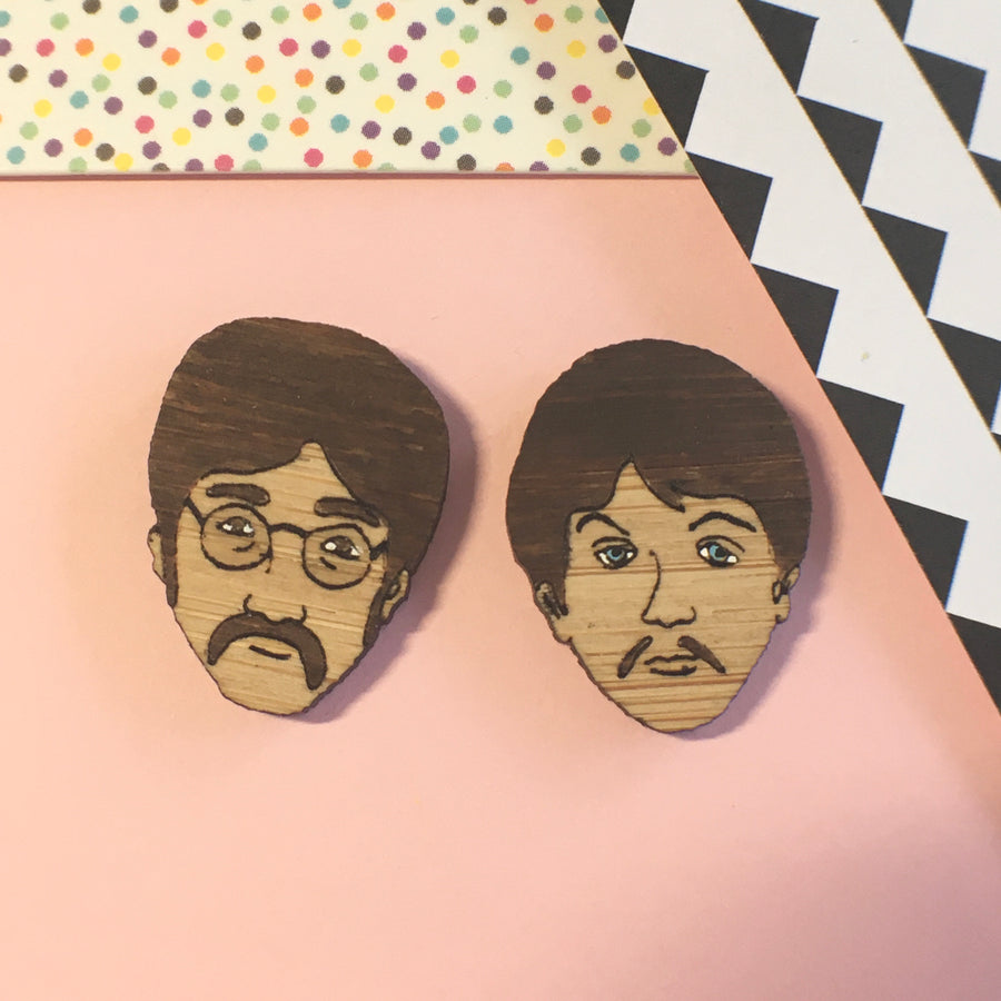 Face Studs: The Beatles