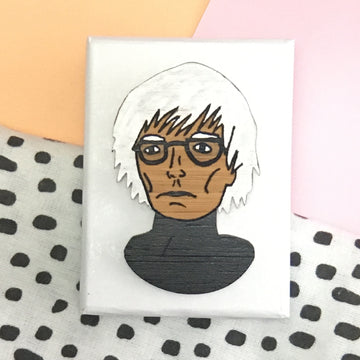 Brooch: Andy Warhol