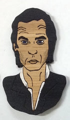 Brooch: Nick Cave