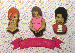 Magnets: Rockin' Christmas Trio