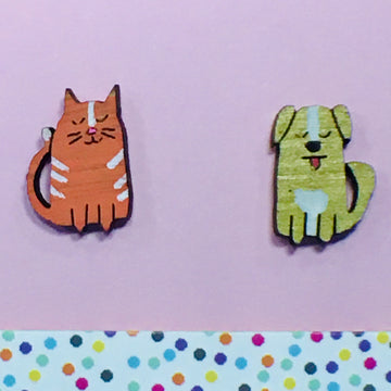 Studs: Cat and Dog