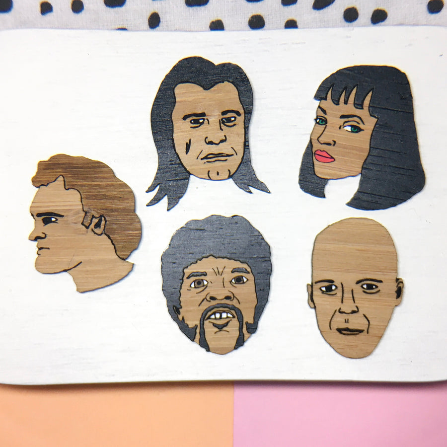 Magnets: Pulp Fiction