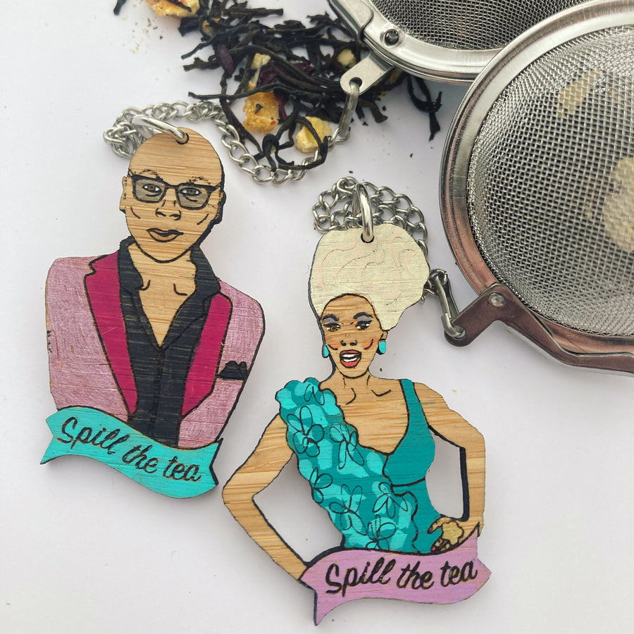 Coming Soon! Tea Ball: RuPaul - spill the tea