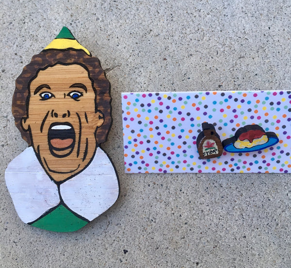 Brooch: Buddy the Elf