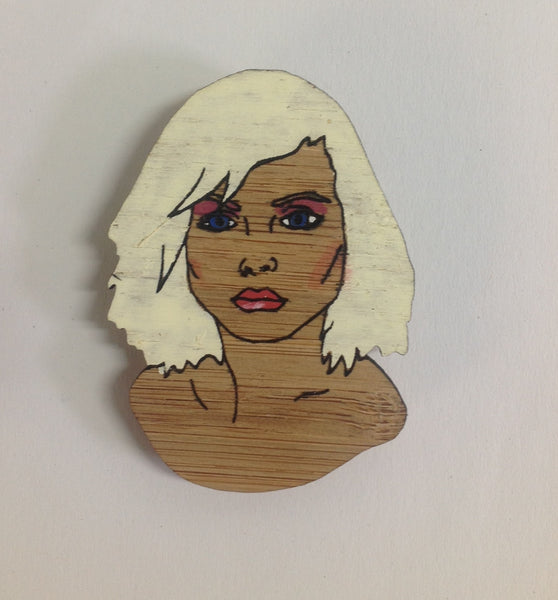 Brooch: Debbie Harry