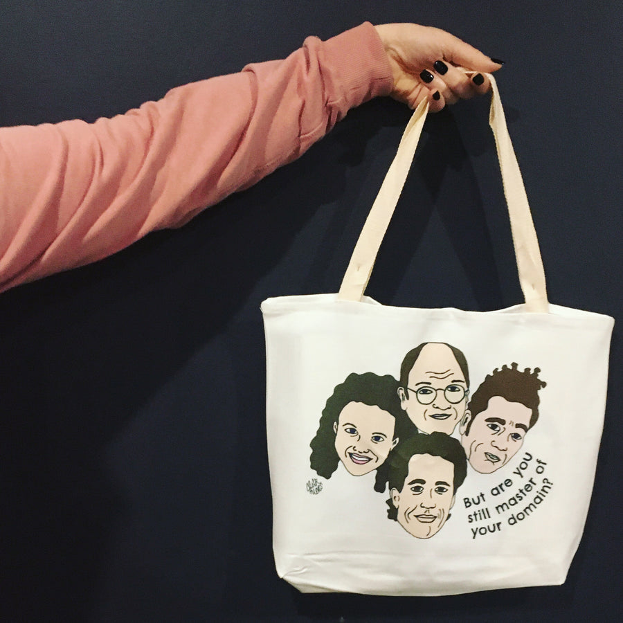 Seinfeld - Master of Your Domain Tote Bag