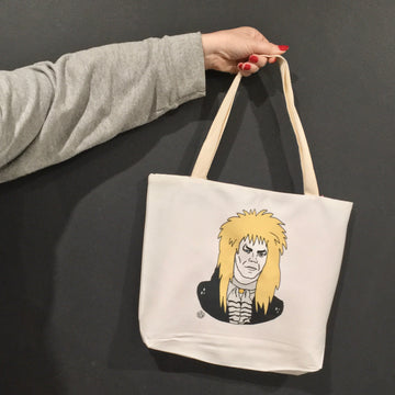Jareth - Goblin King Tote Bag