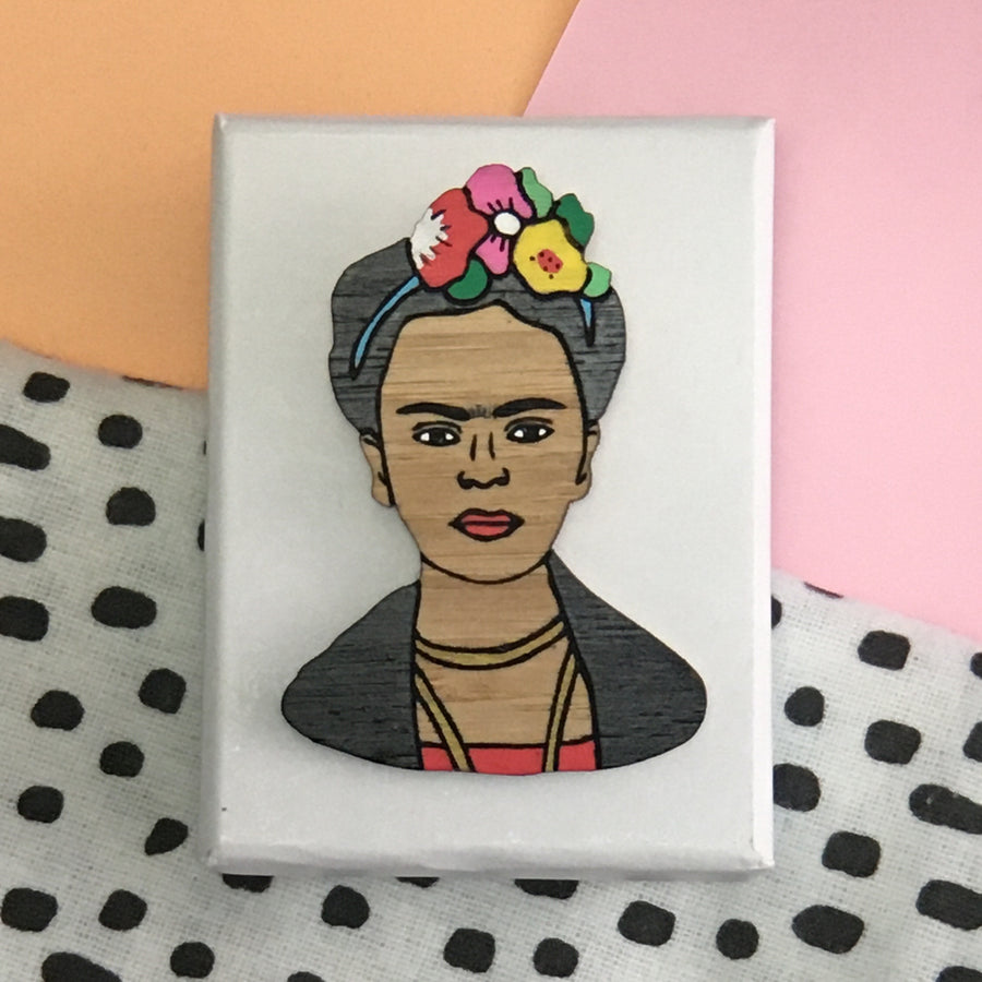 Brooch: Frida Kahlo