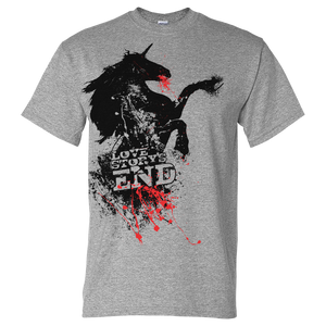 """Bleeding Unicorn"" T-Shirt"