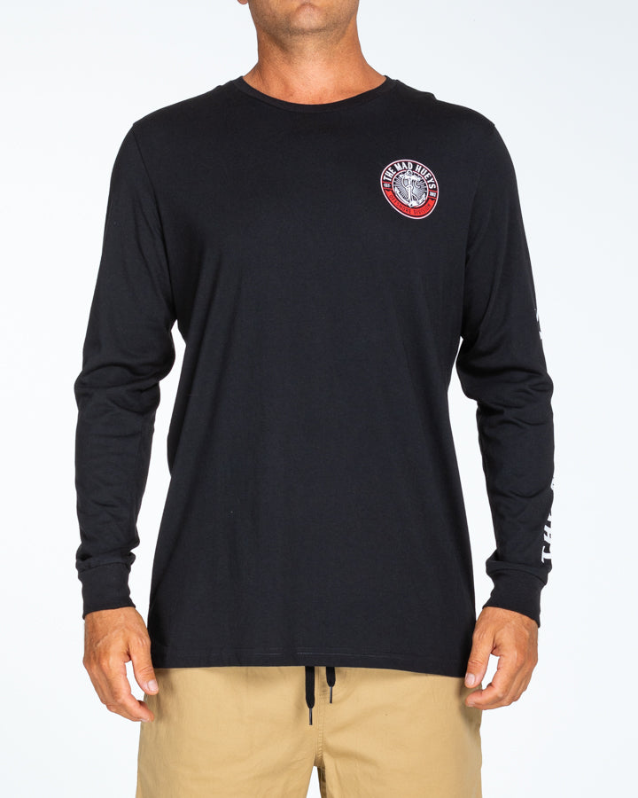 STANDARD ISSUE UV LS TEE - BLACK