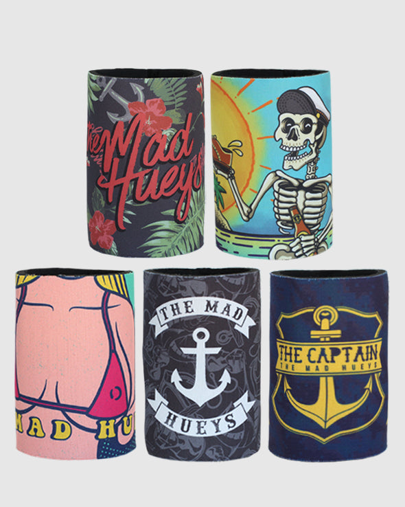 5-PACK COOLERS - MULTI